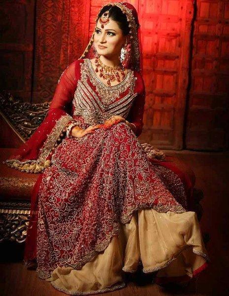 72c08f38c86d Bridal Dresses In Pakistan 2015
