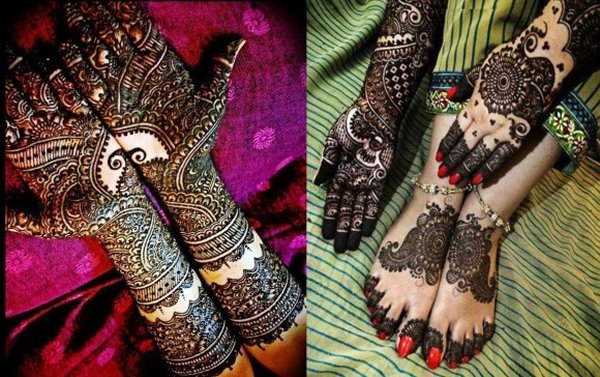Bridal Mehndi New Latest Design : Bridal mehndi designs g