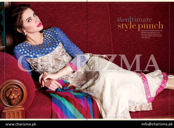 Charizma Winter Dresses 2015 Volume 2 For Women 0012