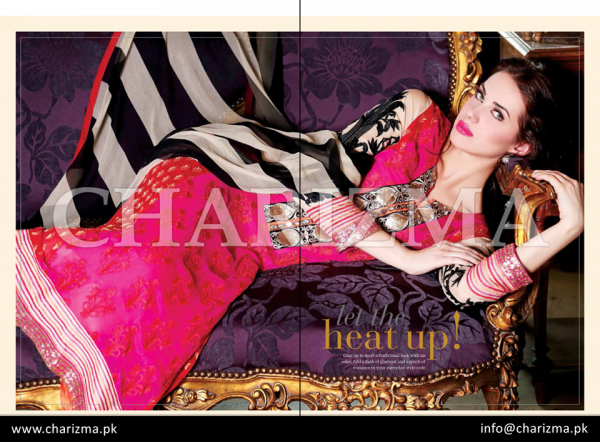 Charizma Winter Dresses 2015 Volume 2 For Women 004