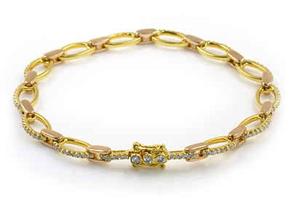 Designs Of Gold Bracelets For Girls 001