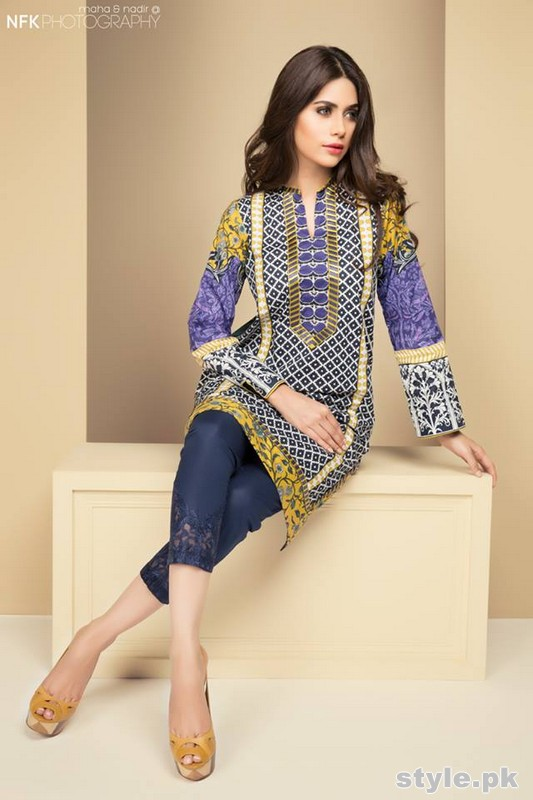 Elan Sapphire Collection 2015 by Khadija Shah 3
