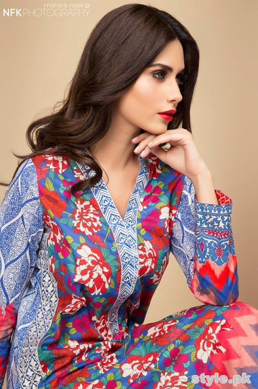Elan Sapphire Collection 2015 by Khadija Shah 4