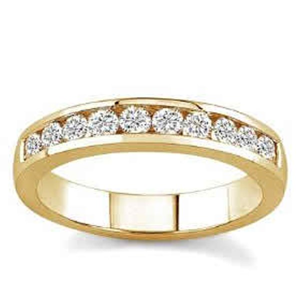 Wedding Rings In Yellow Gold