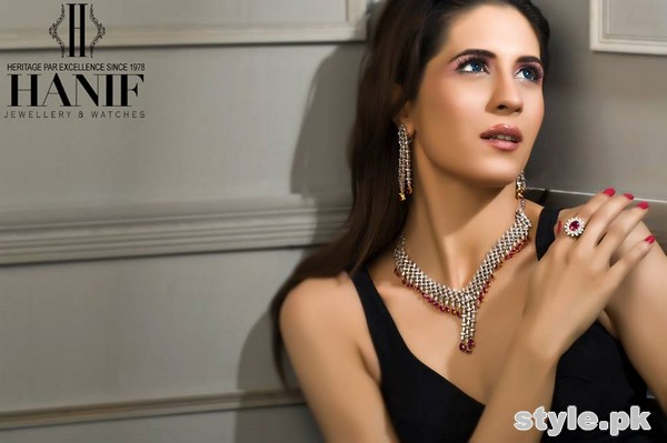 Hanif Jewellers Latest Jewellery Collection 2015 For Women 1