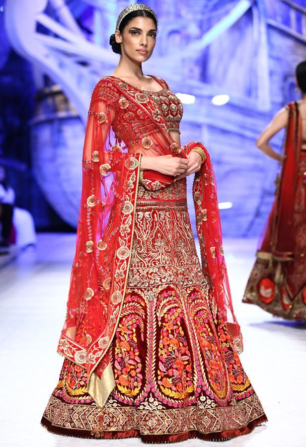 Indian Bridal Dresses 2015 001