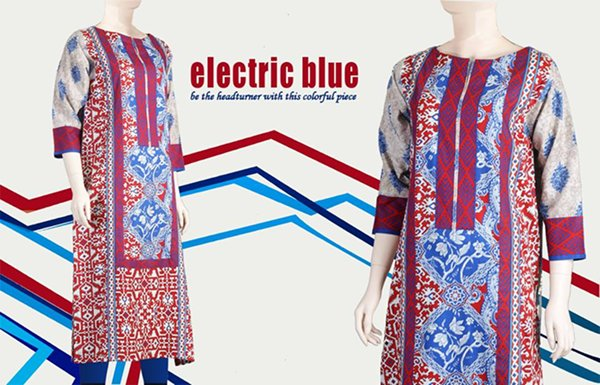 Junaid Jamshed Kurti Collection 2015 For Women 001