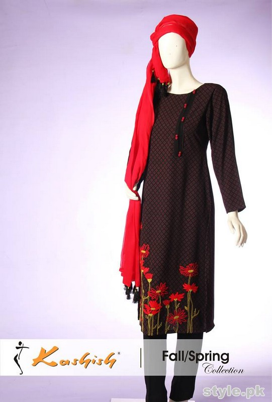 Kashish Fall Spring Dresses 2015 For Women 2