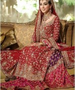 Latest Bridal Gharara Designs 2015 In Pakistan 8