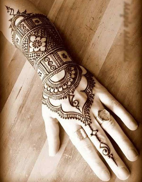 Latest Mehndi Designs - New Mehndi Designs 2015 005