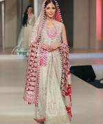 Latest Trends Of Bridal Maxi 2015 In Pakistan 1
