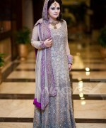 Latest Trends Of Bridal Maxi 2015 In Pakistan 11