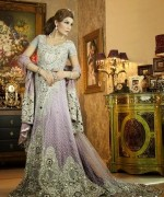 Latest Trends Of Bridal Maxi 2015 In Pakistan 3