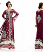 Latest Trends Of Bridal Maxi 2015 In Pakistan 5