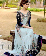 Latest Trends Of Bridal Maxi 2015 In Pakistan 6