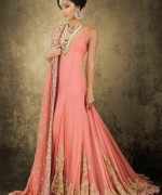 Latest Trends Of Bridal Maxi 2015 In Pakistan 9