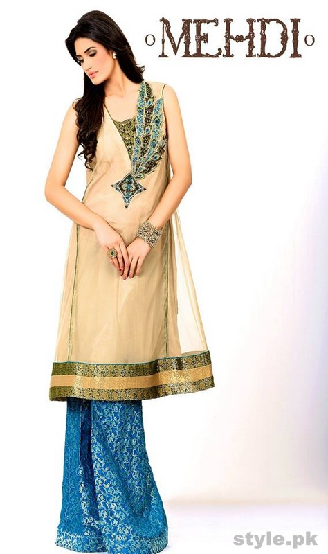 Mehdi Wedding Wear Dresses 2015 For Women 7