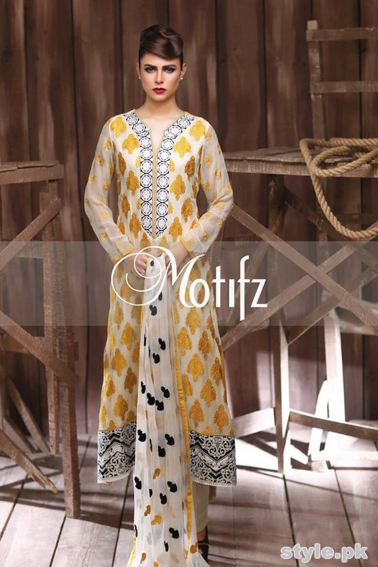 Motifz Crinkle Chiffon Collection 2015 Volume 1 4