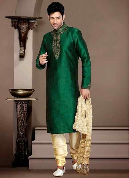 Mehndi Mens Clothes : New mehndi dresses for men