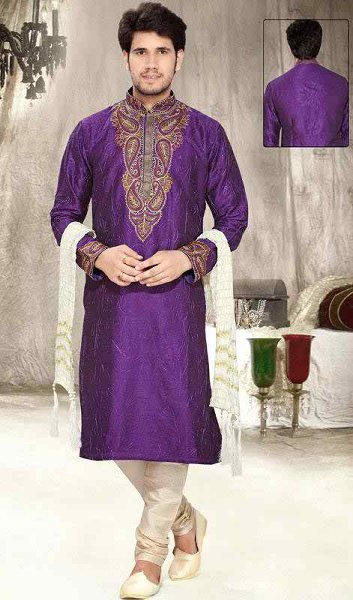 New Mehndi Dresses 2015 For Men 009