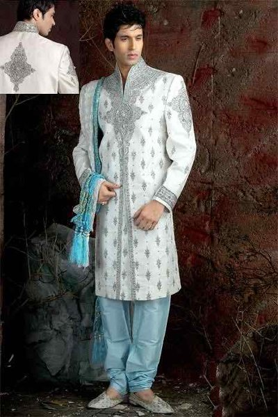 Pakistani Baraat Dresses For Boys 2015 0012