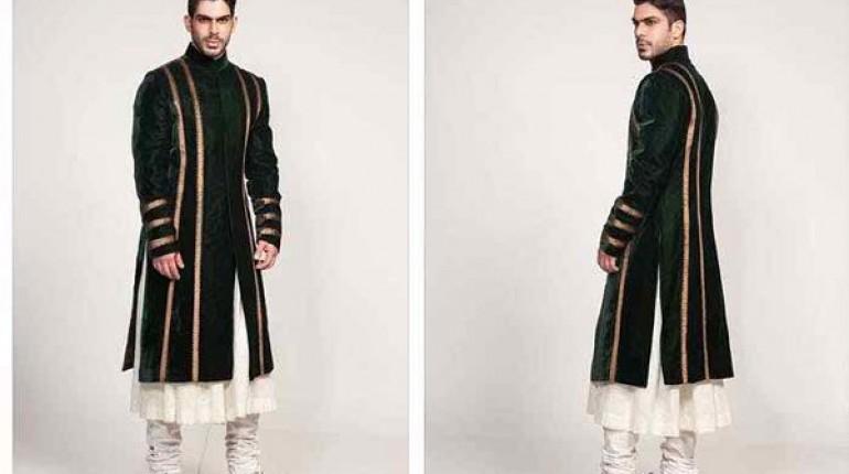 Pakistani Baraat Dresses For Boys 2015