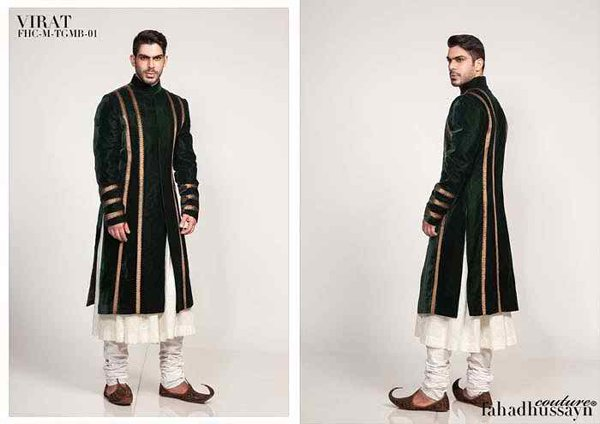 Pakistani Baraat Dresses For Boys 2015