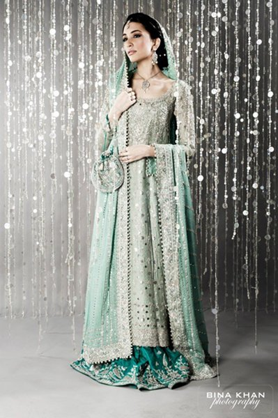 Pakistani Walima Dresses 2015 for Girls 0019