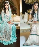 Pakistani Walima Dresses 2015 for Girls 009