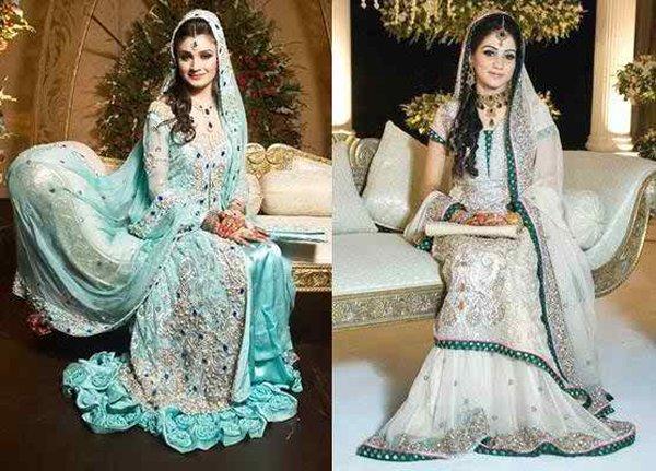 Pakistani Walima Dresses 2015 For Girls