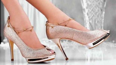 Party High Heel Shoes 2015 In Pakistan 002