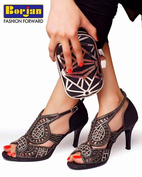 Party High Heel Shoes 2015 In Pakistan 005