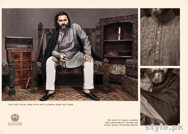 Shahnameh Menswear Collection 2015 For Winter 3