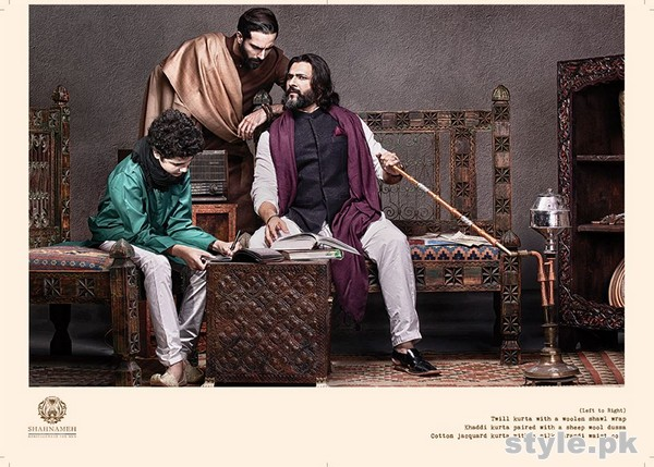 Shahnameh Menswear Collection 2015 For Winter
