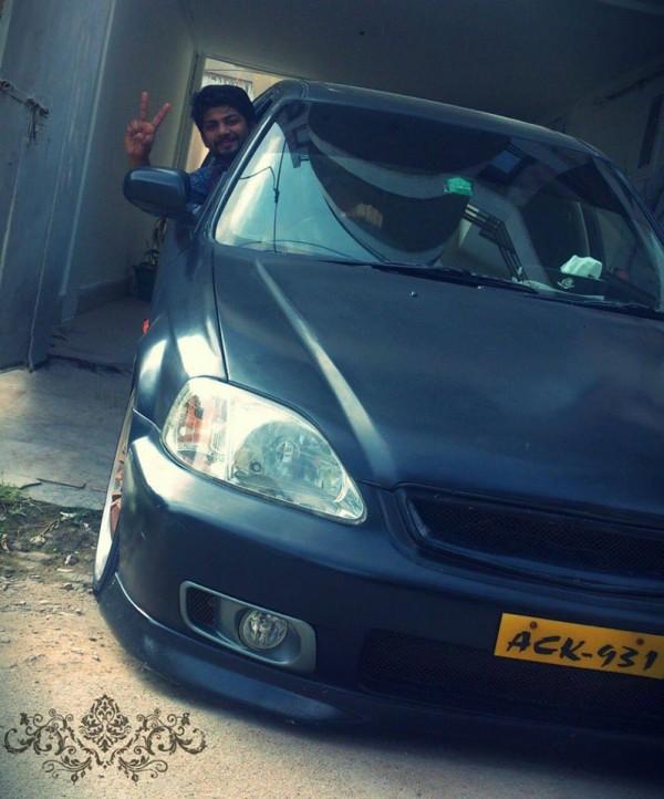 Shahzaib magsi car