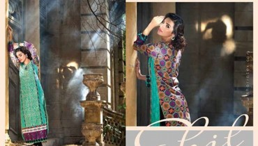 Shariq Textiles Sahil Kurti Collection 2015 For Women 0016