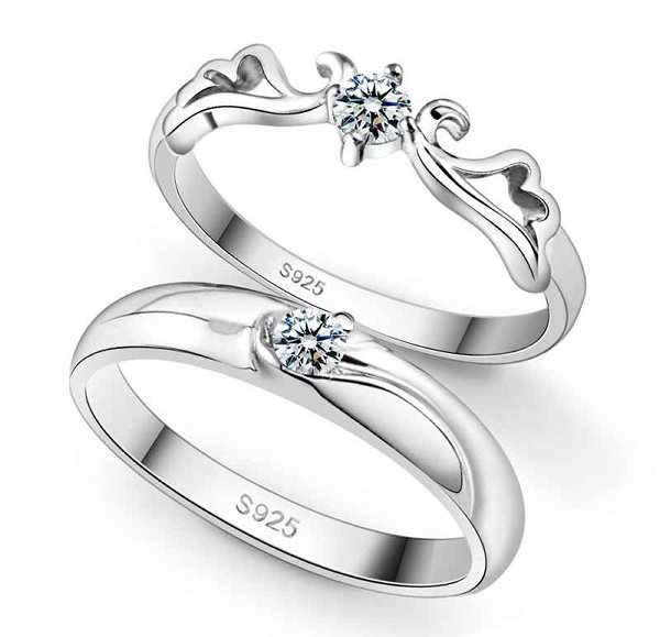 Silver Wedding Rings 2015 For Girls 001
