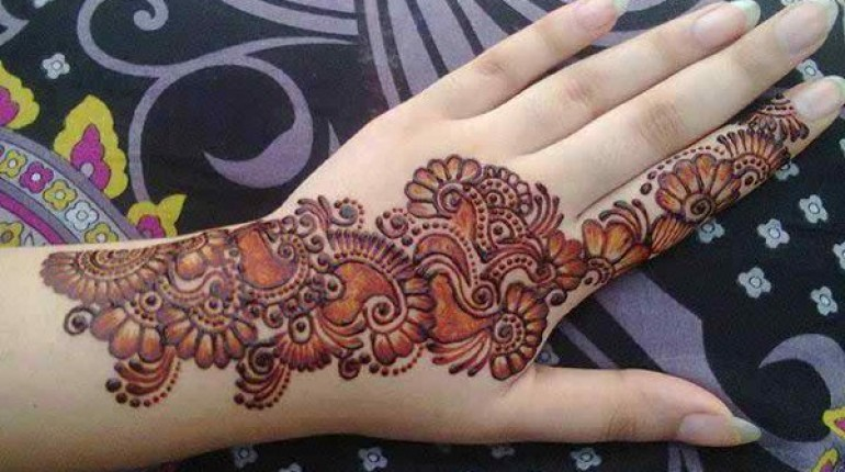 Simple Mehndi Designs- Beautiful Mehndi Designs