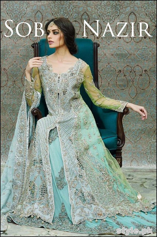 sobia nazir bridal dresses 2015 for women