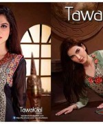 Tawakkal Fabrics Winter Dresses 2015 Volume 2 For Women 004