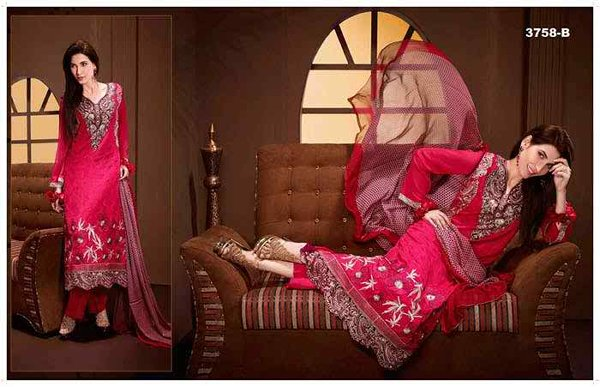 Tawakkal Fabrics Winter Dresses 2015 Volume 2 For Women 006