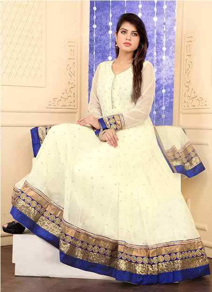 Trends Of Anarkali Frocks 2015 For Women 013