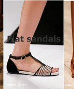 Trends Of Flat Sandals 2015 For Women