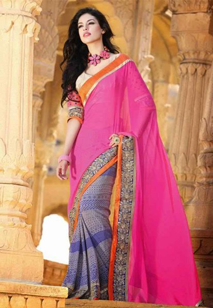 Trends Of Indian Sarees 2015 For Women 0013
