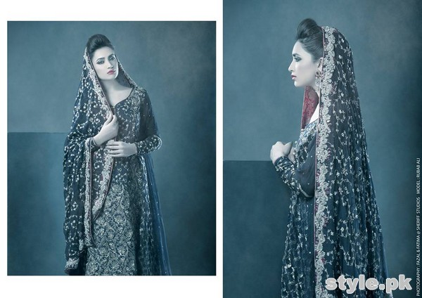Zonia Anwaar Formal Wear Dresses 2015 For Girls 2