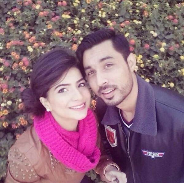 dua malik and sohail post wedding picd