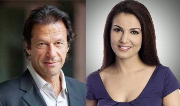 imran khan and reham khan foreigner