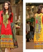 Ajwa Textile Charismatic Collection 2015 For Summer 2