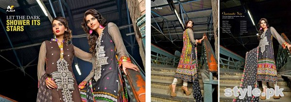 Ajwa Textile Charismatic Collection 2015 For Summer 5