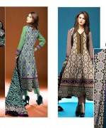 Ajwa Textile Chiffon Collection 2015 Volume 1 For Women 0011